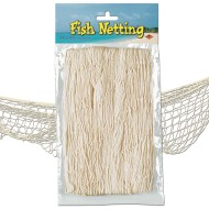 Fish Netting, 4'x12' , Natural