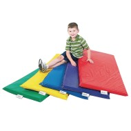 "Children's Factory 2"" Rainbow Rest Mats Set (Set of 5)"