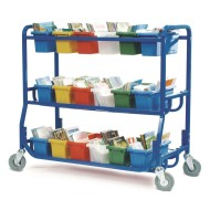Copernicus Library on Wheels with 18 Tubs