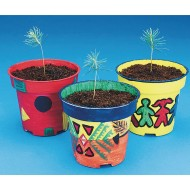 Pine Tree Planter Craft Kit (Pack of 50)