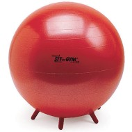 Sit 'N Gym Plus Red Stability Ball, 22