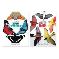 Press Out Flying Book Set: Birds and Butterflies (Set of 2)