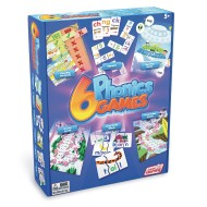 Junior Learning 6-Game Set, Phonics