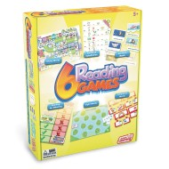 Junior Learning 6-Game Set, Reading