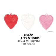 Happy Weight™ 8-Gram Heart Shaped Balloon Weights