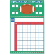 Football Pool Party Game and Activity with Ribbons