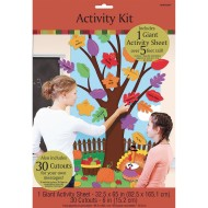 Festive Fall/Thanksgiving Activity Door Decorating Kit