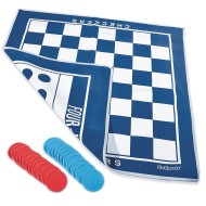 Giant 4 in a Row and Checkers Game