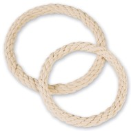 Cotton Rope Covered Wreath, 10