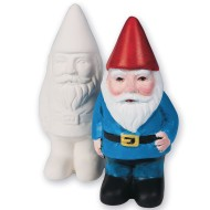 Color-Me™ Ceramic Bisque Gnomes (Pack of 12)