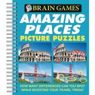 Amazing Places Pictures Puzzle Book