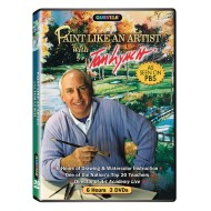 Paint Like an Artist with Tom Lynch 3 DVD Set