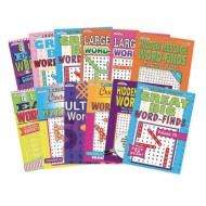 Word Find Puzzle Book Set (Pack of 12)