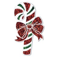 Prismatic Candy Cane Cutouts (Pack of 12)