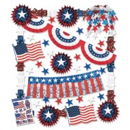 Patriotic Decorating Kit