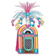 Rock & Roll Jukebox Centerpiece (Pack of 12)