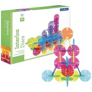 Guidecraft Interlox Discs Creative Building Set