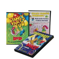 Kids Fitness DVD (Set of 3)