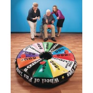 Wheel of Fun Inflatable Toss Game