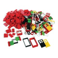 LEGO Education® Doors Windows and Roof Tiles Set