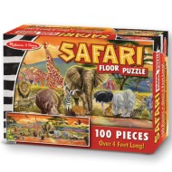 Melissa & Doug® Safari Floor Puzzle