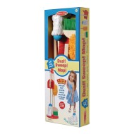Dust Mop And Sweep Cleaning Play Set