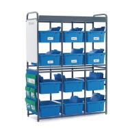 Copernicus Educational Products Storage Organizer for Leveled Literacy,