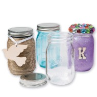Ball® Mini Mason Jars With Lid, 4 oz. (Pack of 4)