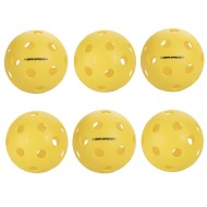 Onix™ Fuse Indoor Pickleballs, Yellow (Pack of 6)