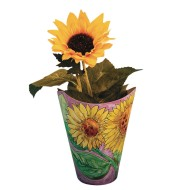 Sunflower Pot Craft Kit (Pack of 24)