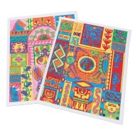 Ancient Culture Design Posters Craft Kit (Pack of 25)