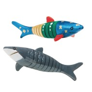 Flexible Wooden Shark Craft Kit (Pack of 12)