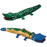 Flexible Wooden Crocodile Craft Kit (Pack of 12)