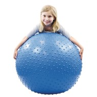 "Cando® Inflatable Exercise Sensi-Ball – 34"" Blue"