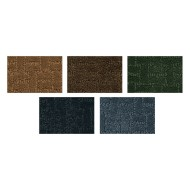 Soft Touch Texture Blocks Rug 6' x 9',