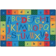 KIDSoft™ Alphabet Around Literacy Carpet