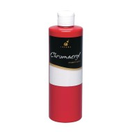 16-oz. Chromacryl® Acrylic Paint, Red, Warm Red