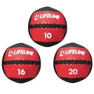 Lifeline® Fitness Wall Ball Medicine Balls,