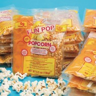 Mega Pop® Corn, Oil and Salt Kit for Popcorn Makers with a 4 oz. Kettle