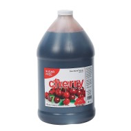 Sugar-Free Cherry Sno-Kone® Syrup Gallon Case (Case of 4)