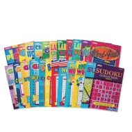 Puzzle Book Easy Pack (Pack of 24)