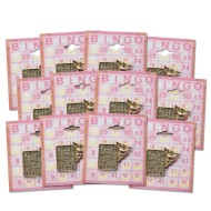 Angel Bingo Card Lapel Pin (Pack of 12)