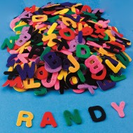 Color Splash!® Adhesive Felt Letter Assortment