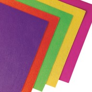 Color Splash!® Neon Felt Sheet Assortment (Pack of 50)