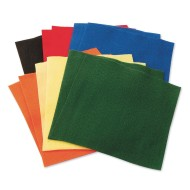 Color Splash!® Felt Square Assortment (Pack of 12)