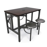 Endure Standing Height 4-Seat Table,