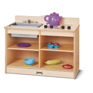 Jonti-Craft® Baltic Birch 2-in-1 Toddler Kitchen