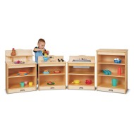 Jonti-Craft® Baltic Birch Toddler 4-Piece Kitchen Set