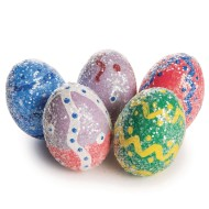 Dazzling Easter Eggs Craft Kit (Pack of 24)