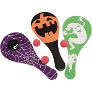 Halloween Paddle Ball Game (Pack of 12)